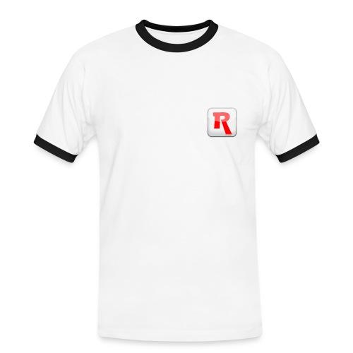 Two colors RENDERLights shirt - Men's Ringer Shirt
