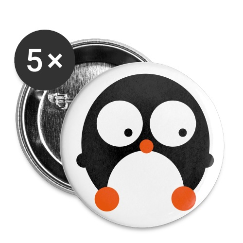 Penguin Badge - Buttons medium 32 mm