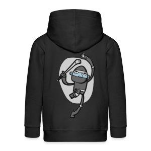 Ninja Hurler : Kids' Zip Hoody - Kids' Premium Zip Hoodie