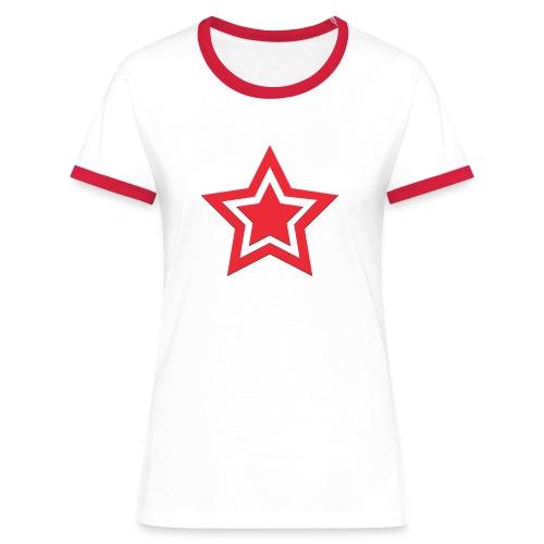 Austrian Star - Frauen Kontrast-T-Shirt