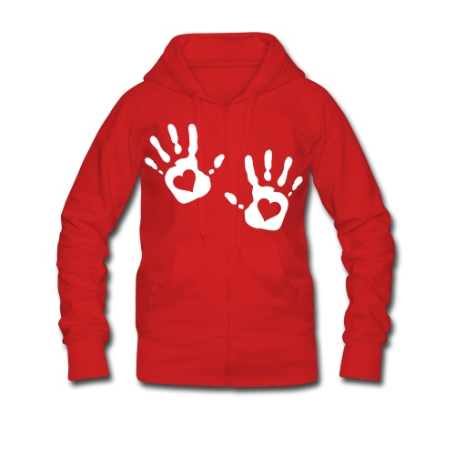 Sudadera Hands Up MDj (W) - Chaqueta con capucha premium mujer