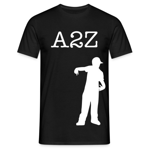 A2Z Black T-Shirt - Men's T-Shirt