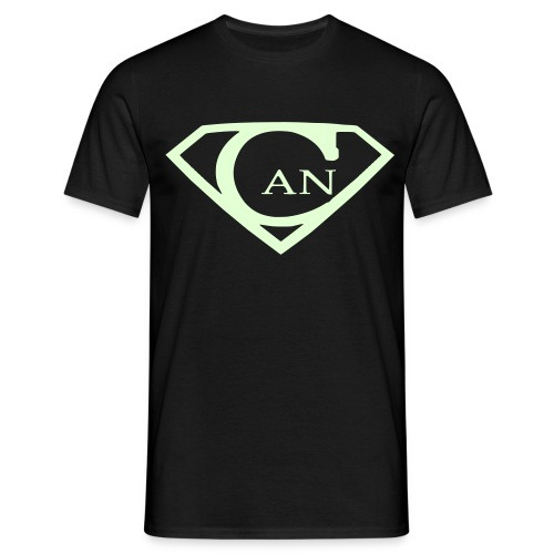 SupaCAN_Nachtsicht - Männer T-Shirt