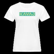 T-Shirts ~ Frauen Bio-T-Shirt ~ KAVAJ Logo-Shirt -W