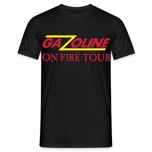 GAZOLINE deluxe T-shirt Rock till you drop - Mannen T-shirt