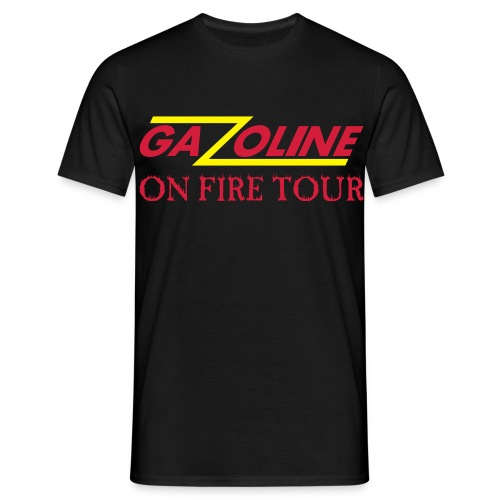 GAZOLINE deluxe T-shirt Rock till you drop - Mannen T-shirt