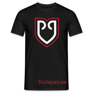 Rollapaluza official tee shirt mens black - Männer T-Shirt