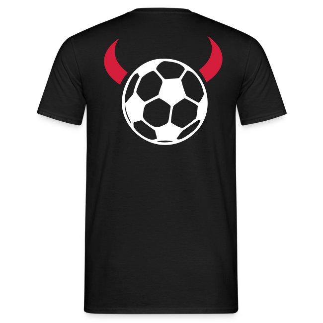 Ponter Fußball (Ball auf dem Rücken)