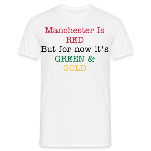 Manchester is RED - Men's T-Shirt