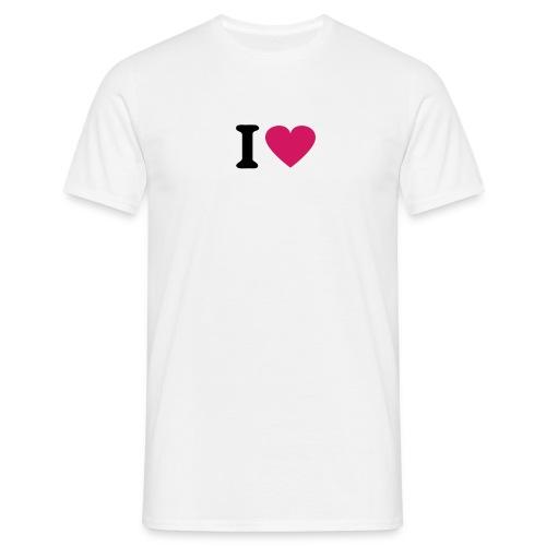 I love ... - Männer T-Shirt