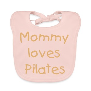 Mommy loves Pilates - Baby Bio-Lätzchen