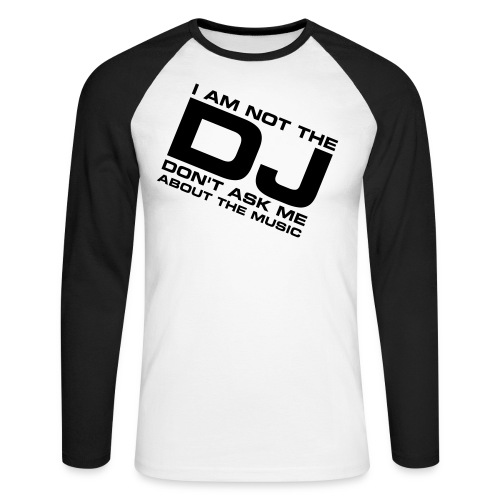Le Dj Classic  - T-shirt baseball manches longues Homme