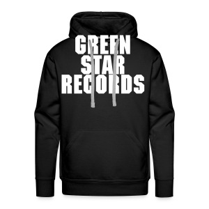 greenstarrecords sweater mannen - Mannen Premium hoodie