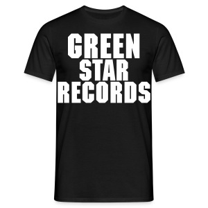 greenstarrecords t-shirt - Mannen T-shirt