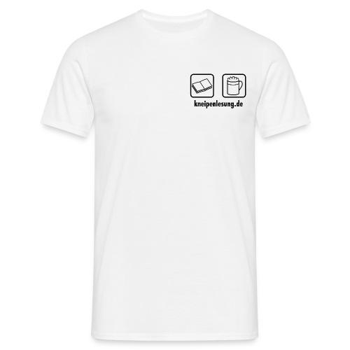 Kneipenlesung Klassisch Hell Men - Männer T-Shirt