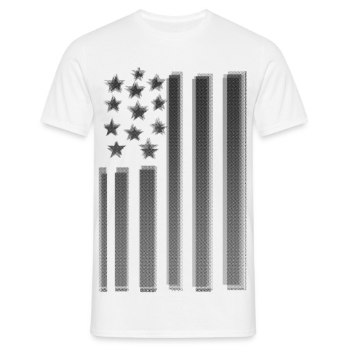 MCHARDY USA FLAG ONE - Men's T-Shirt