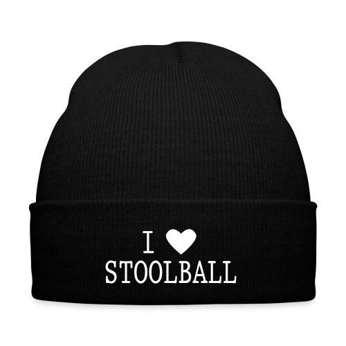 I Love Stoolball Winter Hat - Winter Hat