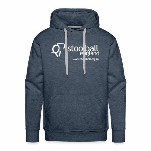 Stoolball England Men's Hoodie - Men's Premium Hoodie