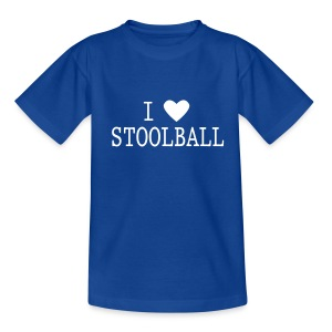 I Love Stoolball Kid's T-Shirt - Teenage T-shirt