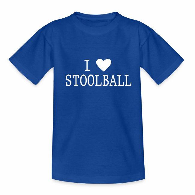 I Love Stoolball Kid's T-Shirt
