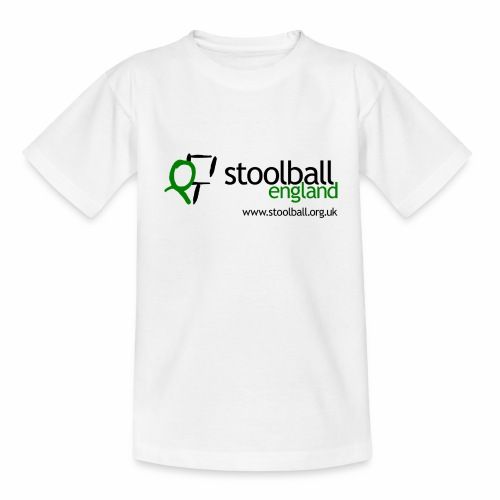 Stoolball England Kid's T-Shirt - Teenage T-Shirt