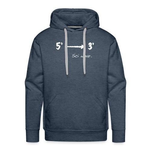 5' to 3' (hoodie) - Men's Premium Hoodie
