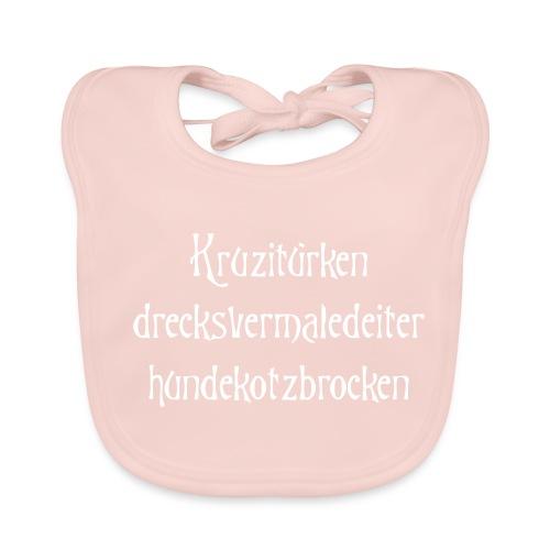 Baby Bio-Lätzchen - Kruzitürken,hundekotzbrocken