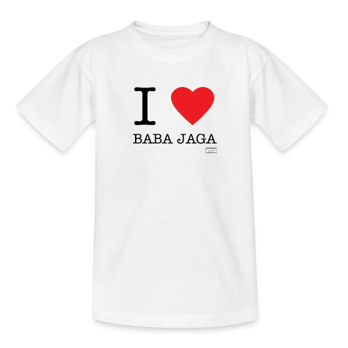 Teenager T-Shirt - Baba,Jaga,Love,herz