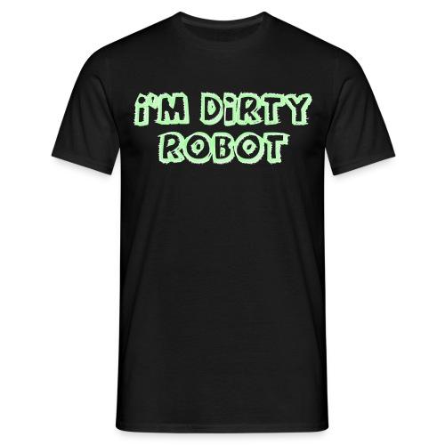 Dirty Robot - Maglietta da uomo