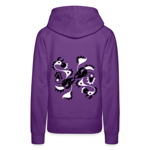 Tattoo Style Art Design - Frauen Premium Hoodie