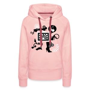 cherryshoes hoodie - Frauen Premium Hoodie