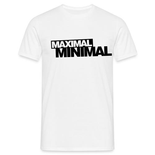 Minimal-Shirt - Männer T-Shirt