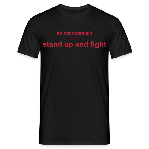 Fight - Männer T-Shirt