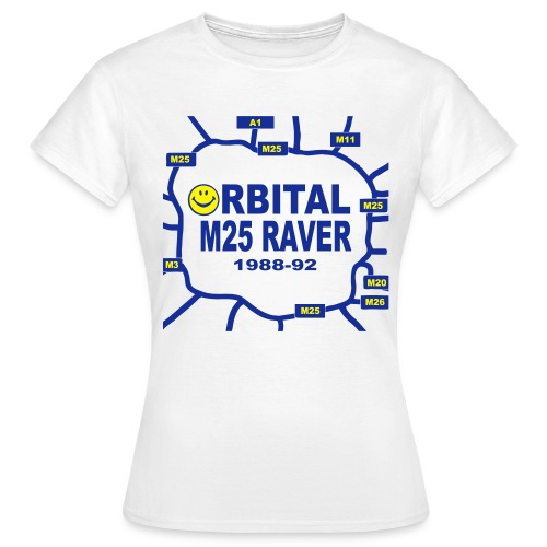Oribital M25 Acid House Raver t-shirt - Women's T-Shirt