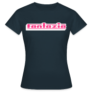 T-Shirts ~ Women's T-Shirt ~ 3D Fantazia Ladies Slim Fit T-shirt