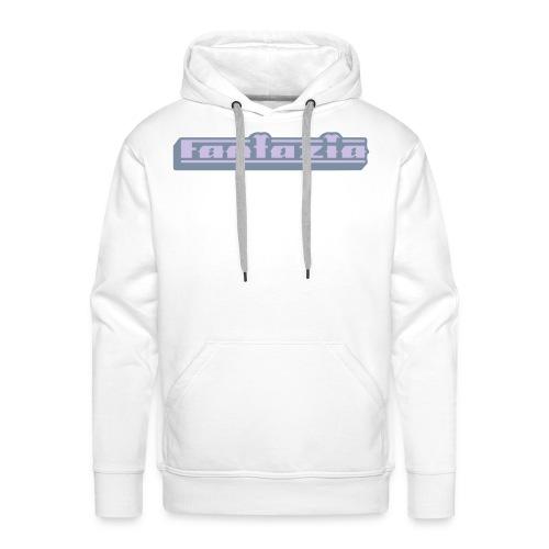 Fantazia Hoodie with 3D logo - Men's Premium Hoodie