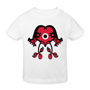 Cosmic Twins - Kid Organic Shirt - 2 Color Plot print Design - Kinder Bio-T-Shirt