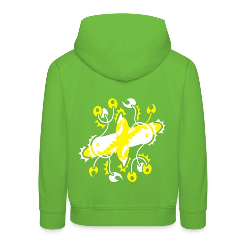 Cosmic Twins - Kid Kapuzenpullover - 2 Color Plot print Design - Kinder Premium Hoodie