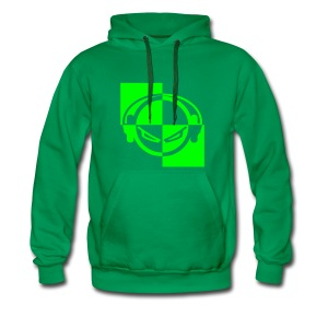 DJ (neon-green) - Kapuzenpullover - Männer Premium Hoodie
