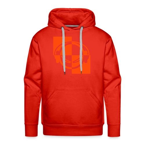 DJ (neon-orange) - Kapuzenpullover - Männer Premium Hoodie