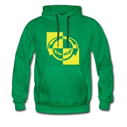 DJ (neon-yellow) - Kapuzenpullover - Männer Premium Hoodie