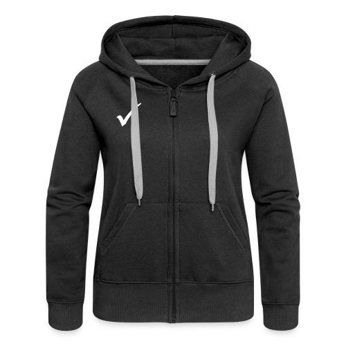 ladies hooded jacket - Women's Premium Hooded Jacket