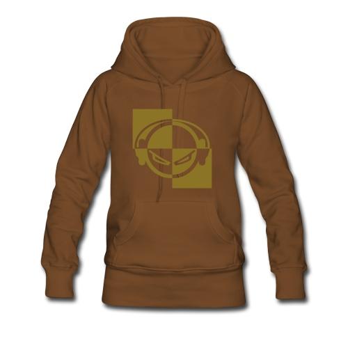 DJ (gold-metallic) - Kapuzenpullover - Frauen Premium Hoodie