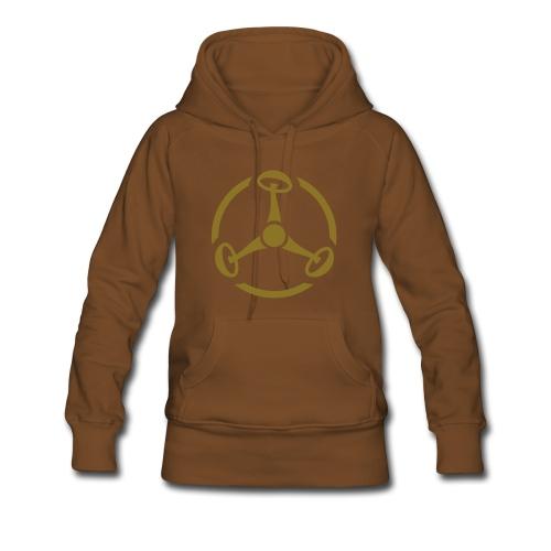 ShroomHazard (gold-metallic) - Kapuzenpullover - Frauen Premium Hoodie