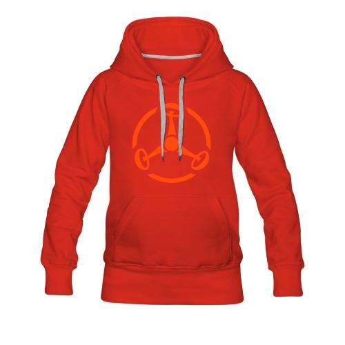 ShroomHazard (neon-orange) - Kapuzenpullover - Frauen Premium Hoodie