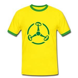 ShroomHazard - Kontrast-Shirt - Männer Kontrast-T-Shirt