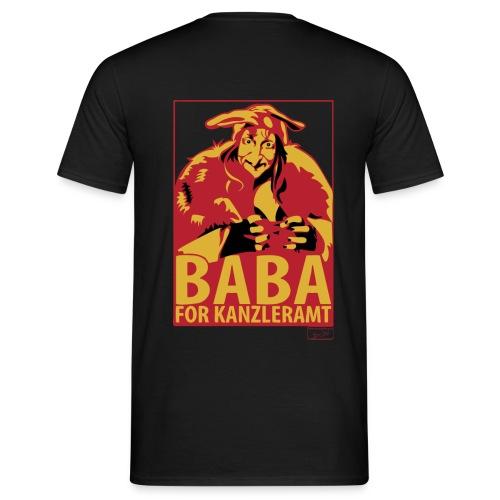 Männer T-Shirt - Kanzleramt,Baba