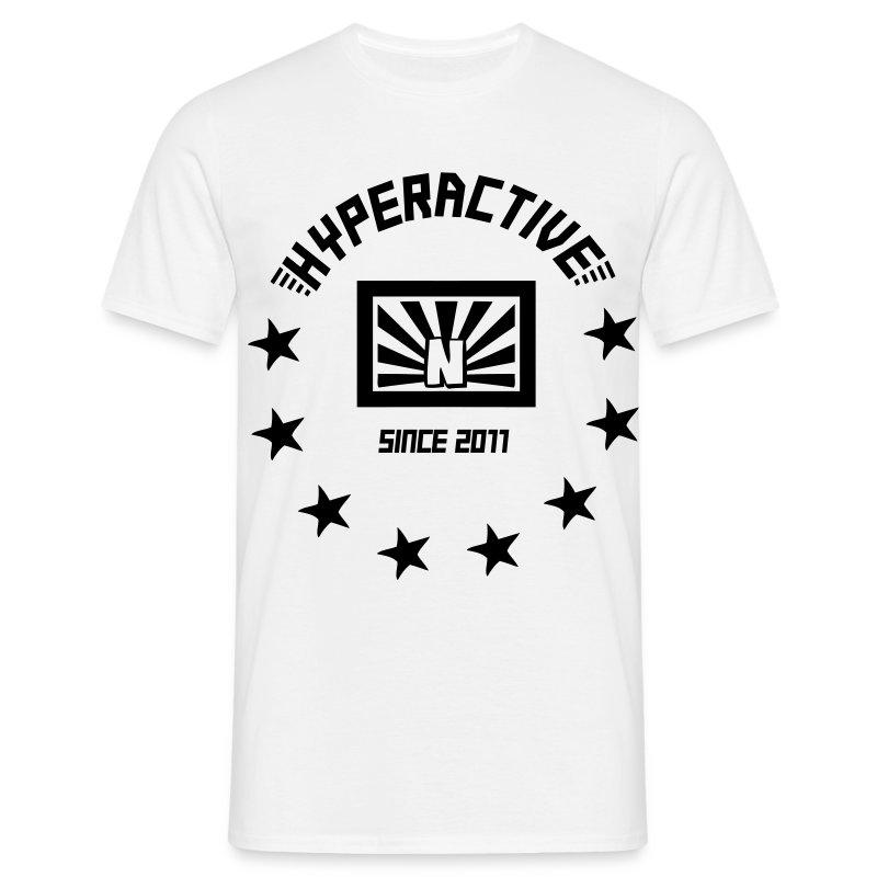 hyperactive demoshirt - Männer T-Shirt
