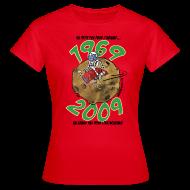 Tee shirts ~ Tee shirt Femme ~ Conquête espace femme rouge