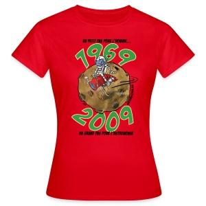 Conquête espace femme rouge - T-shirt Femme